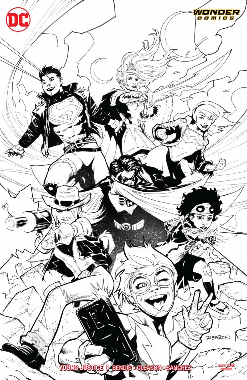 Young Justice  #1 CVR B