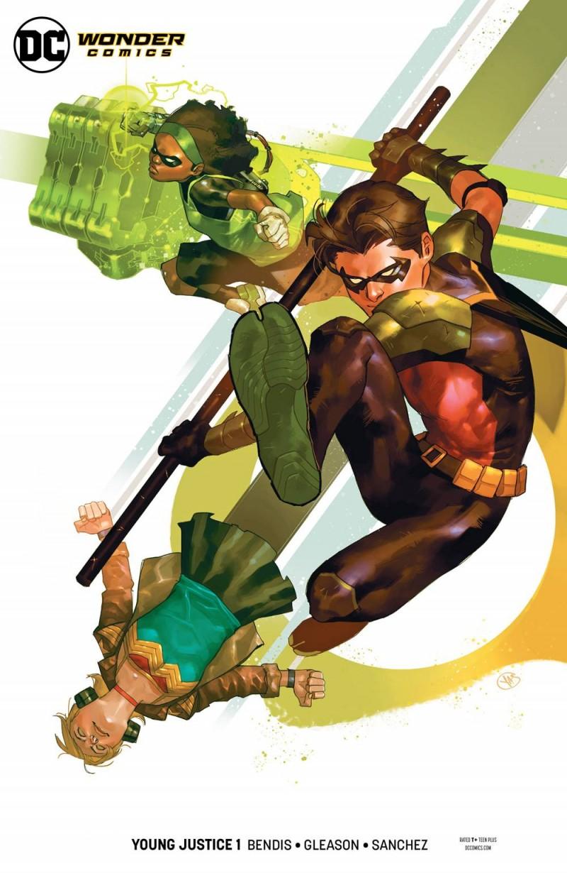 Young Justice V2 #1 CVR E Robin