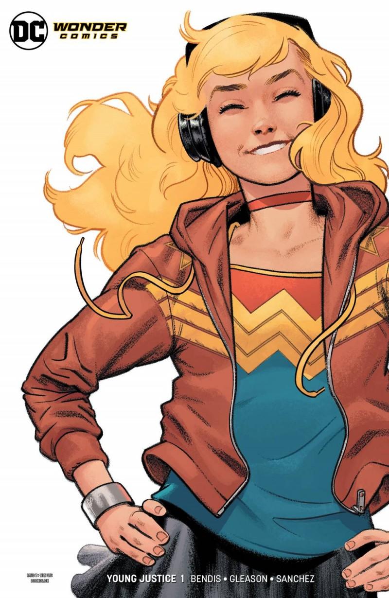 Young Justice V2 #1 CVR G Wonder Girl