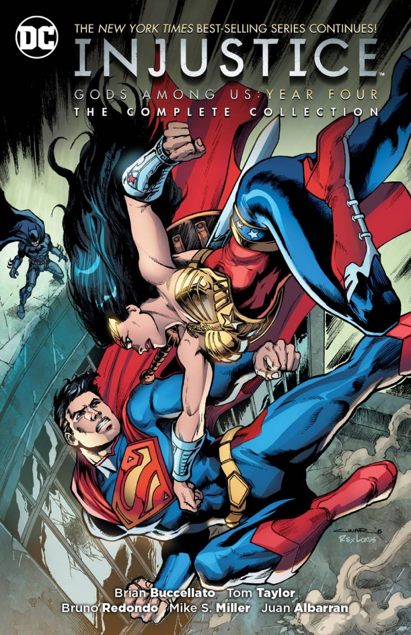 Injustice Gods Among Us TP Year Four Complete Collection