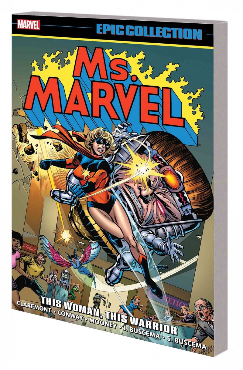 Ms Marvel TP Epic Collection Woman Warrior