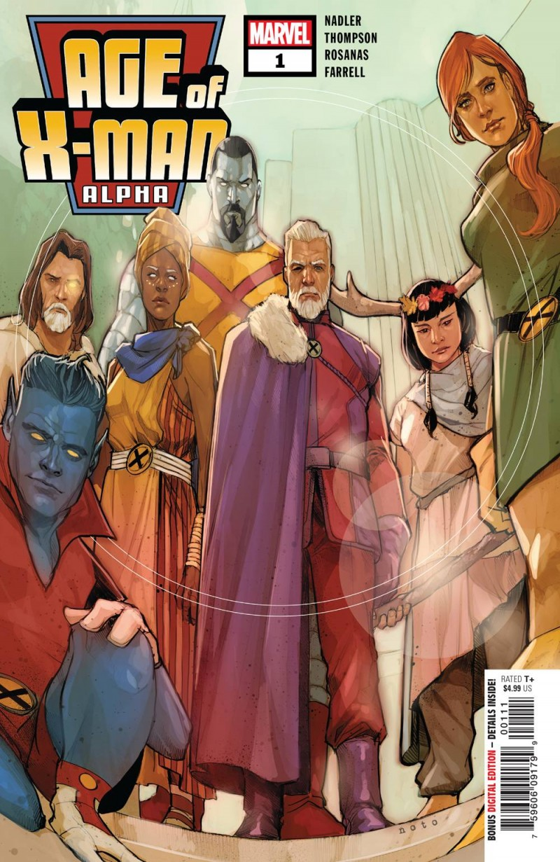 Age of X-Man One-Shot Alpha