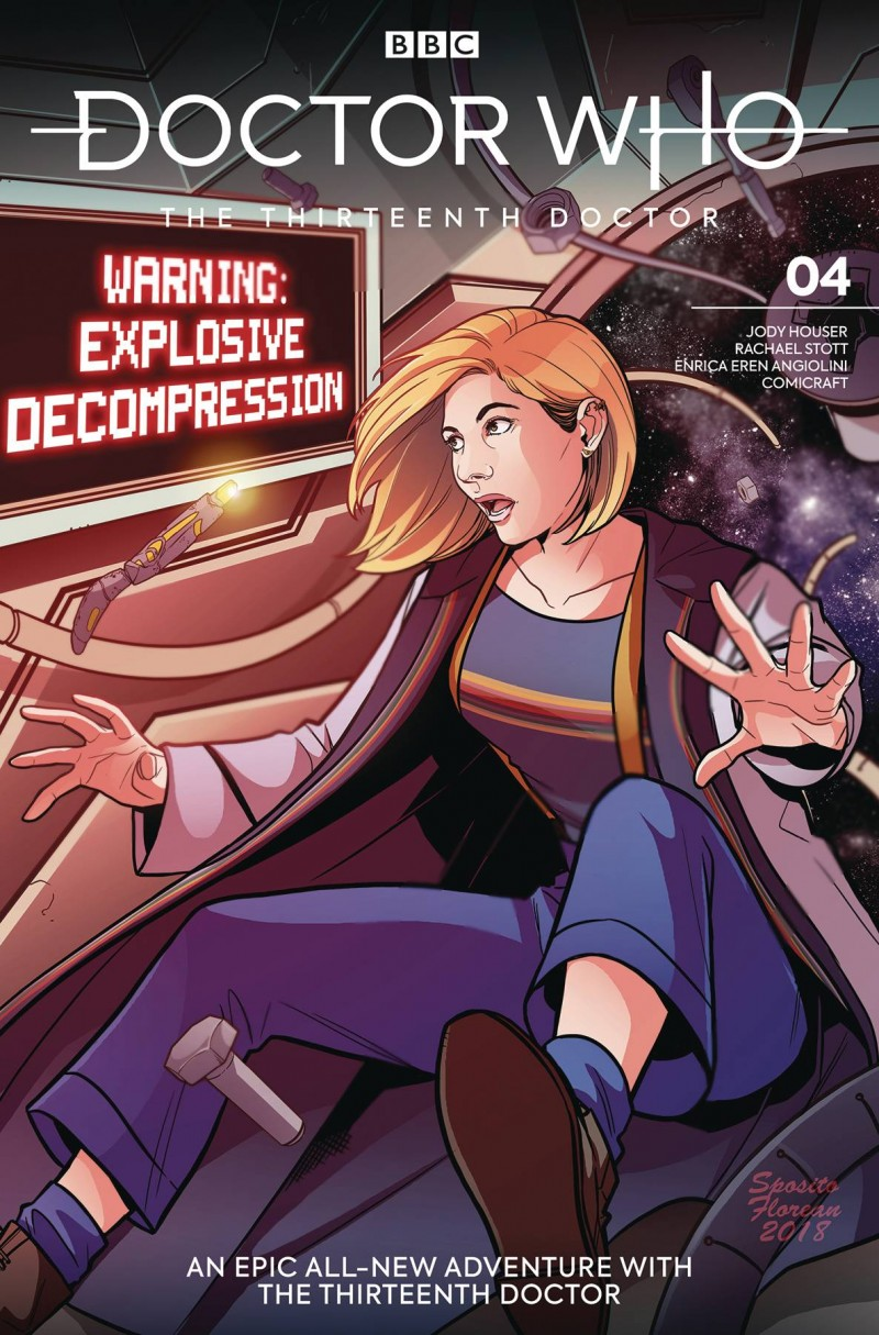 Doctor Who 13th #4 CVR A Zanfardino