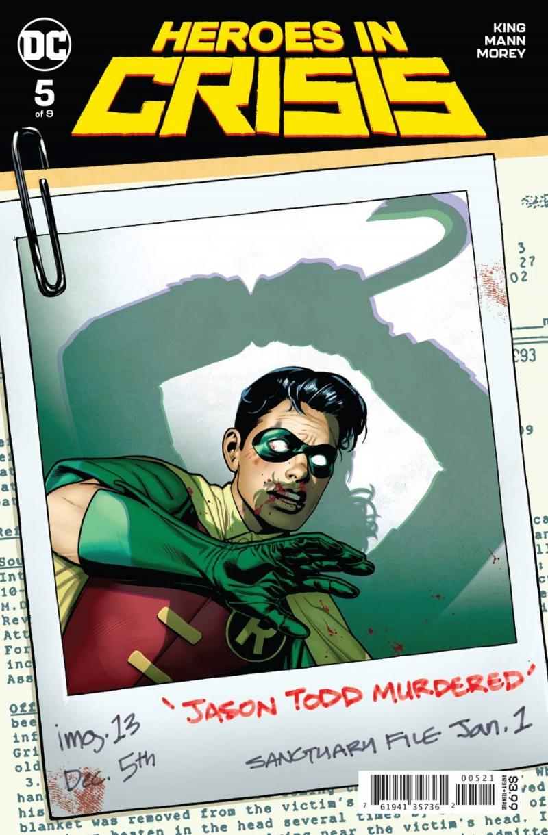 Heroes In Crisis #5 CVR B