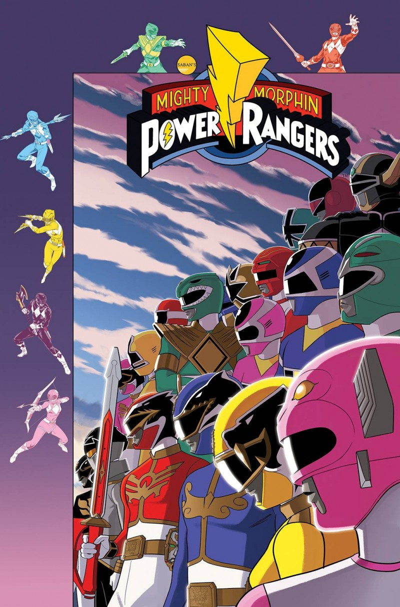 Mighty Morphin Power Rangers #35 CVR B Preorder Gibson