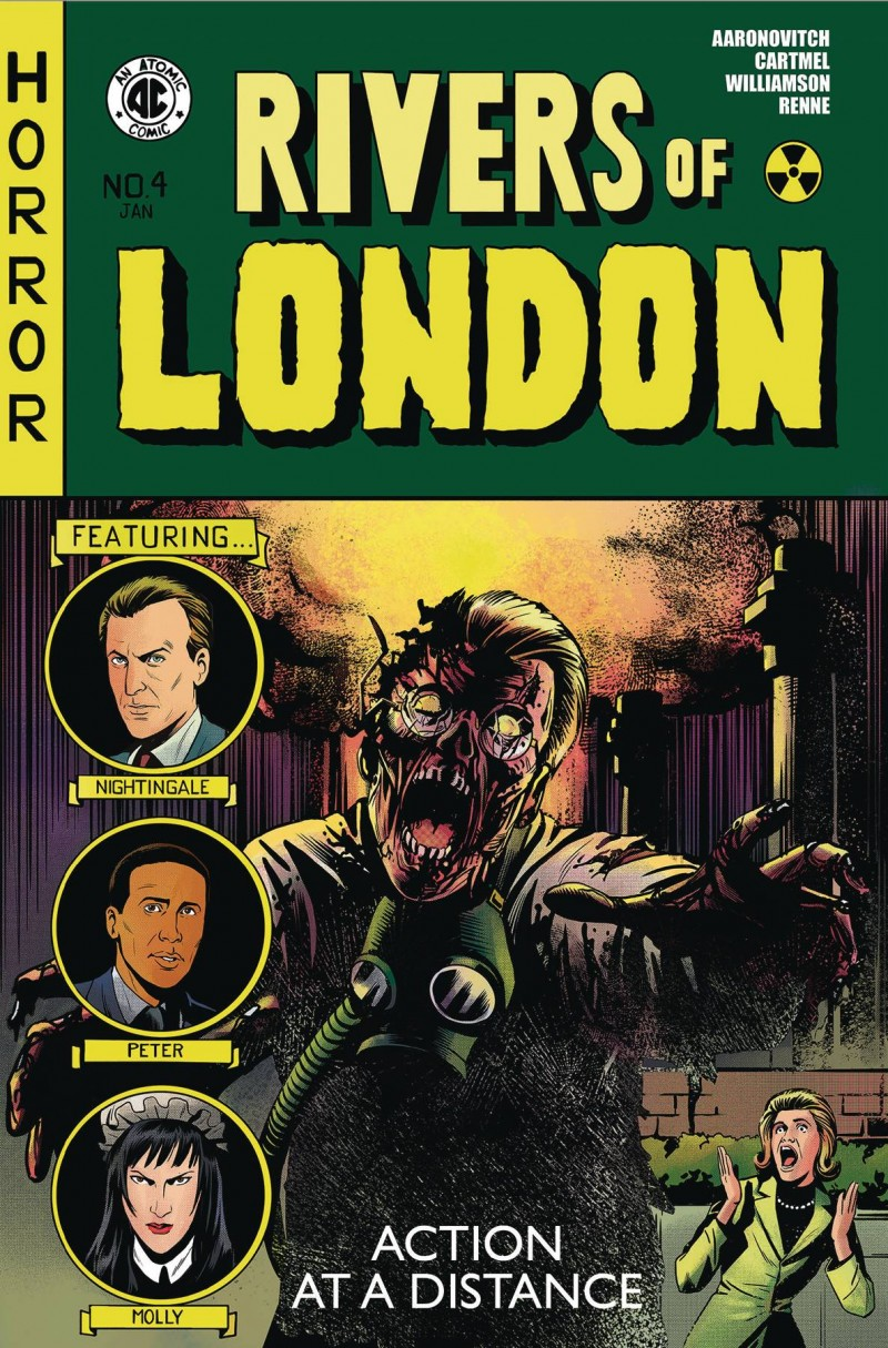 Rivers of London Action at a Distance #4