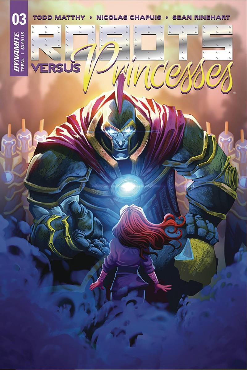 Robots Vs Princesses #4