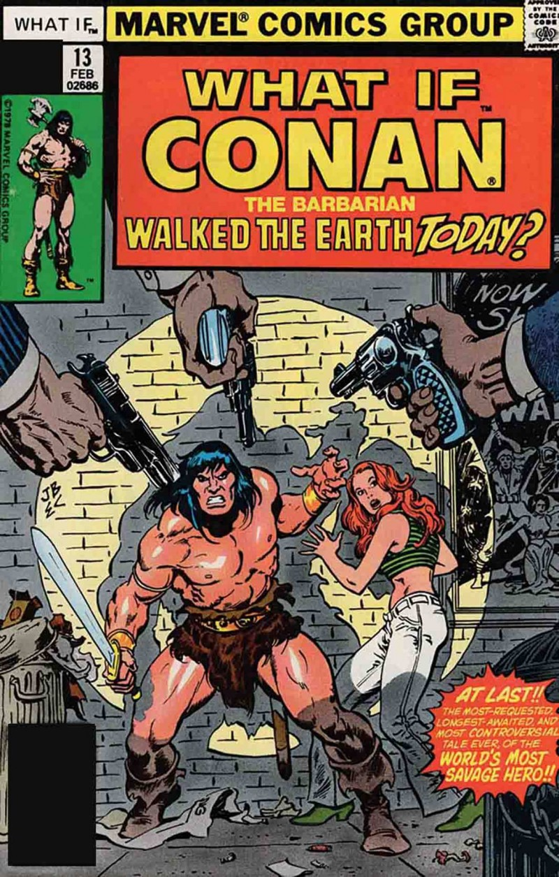 True Believers One-Shot What If Conan Walked Earth Today