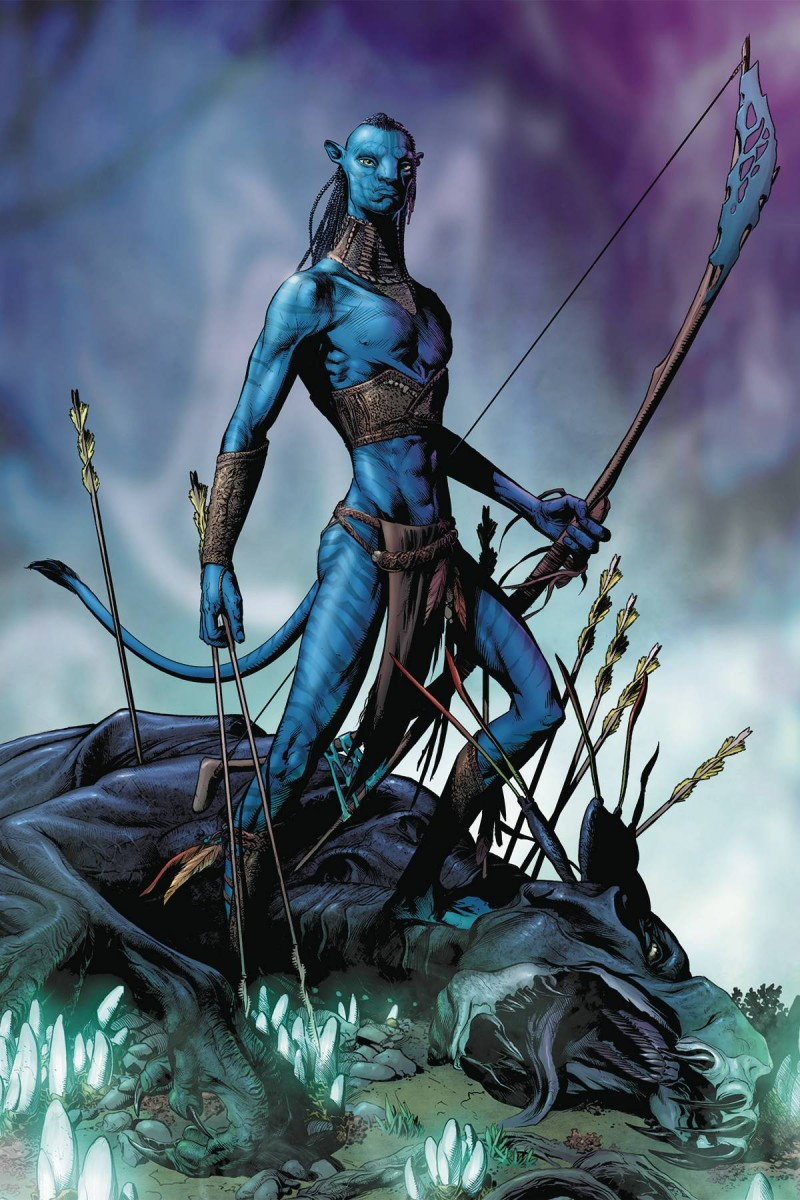 Avatar Tsu Teys Path #1 CVR A Wheatley