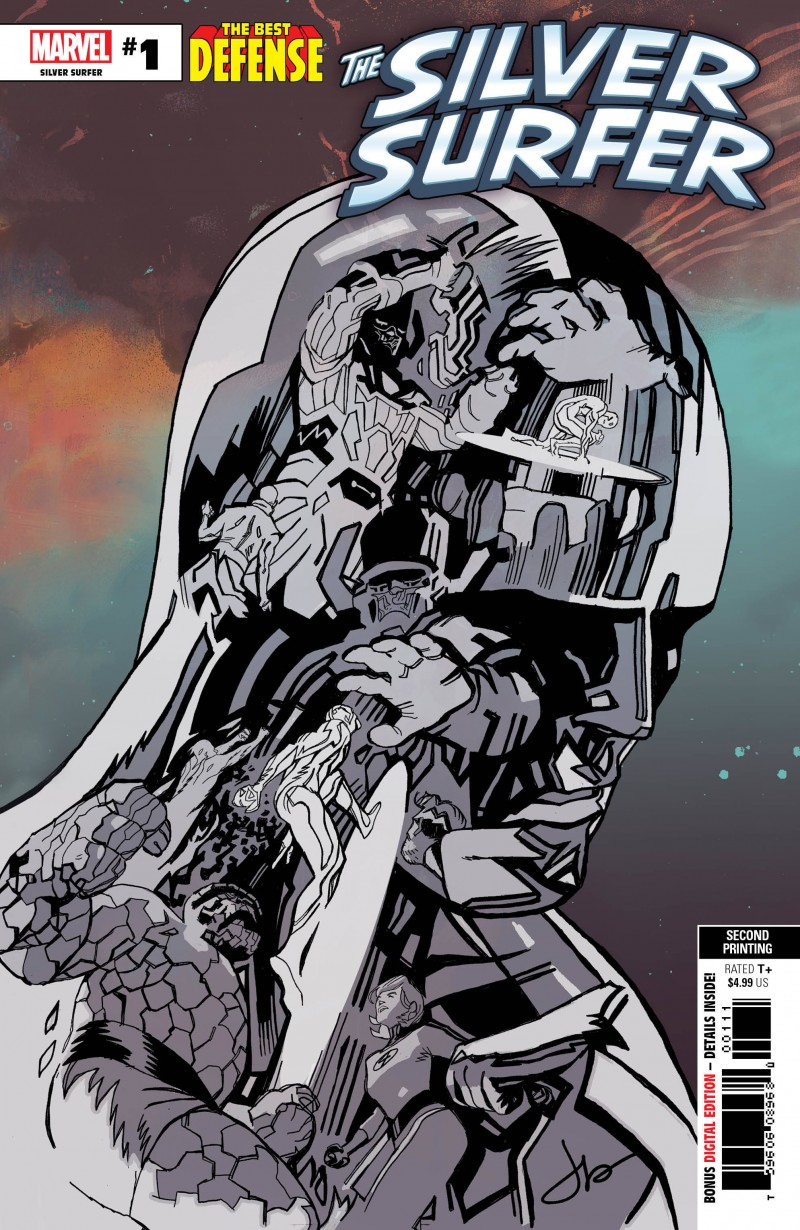 Defenders One-Shot Silver Surfer Second Printing
