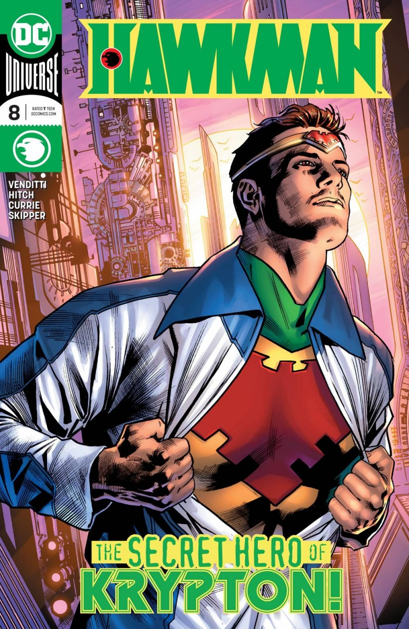 Hawkman  #8 CVR A