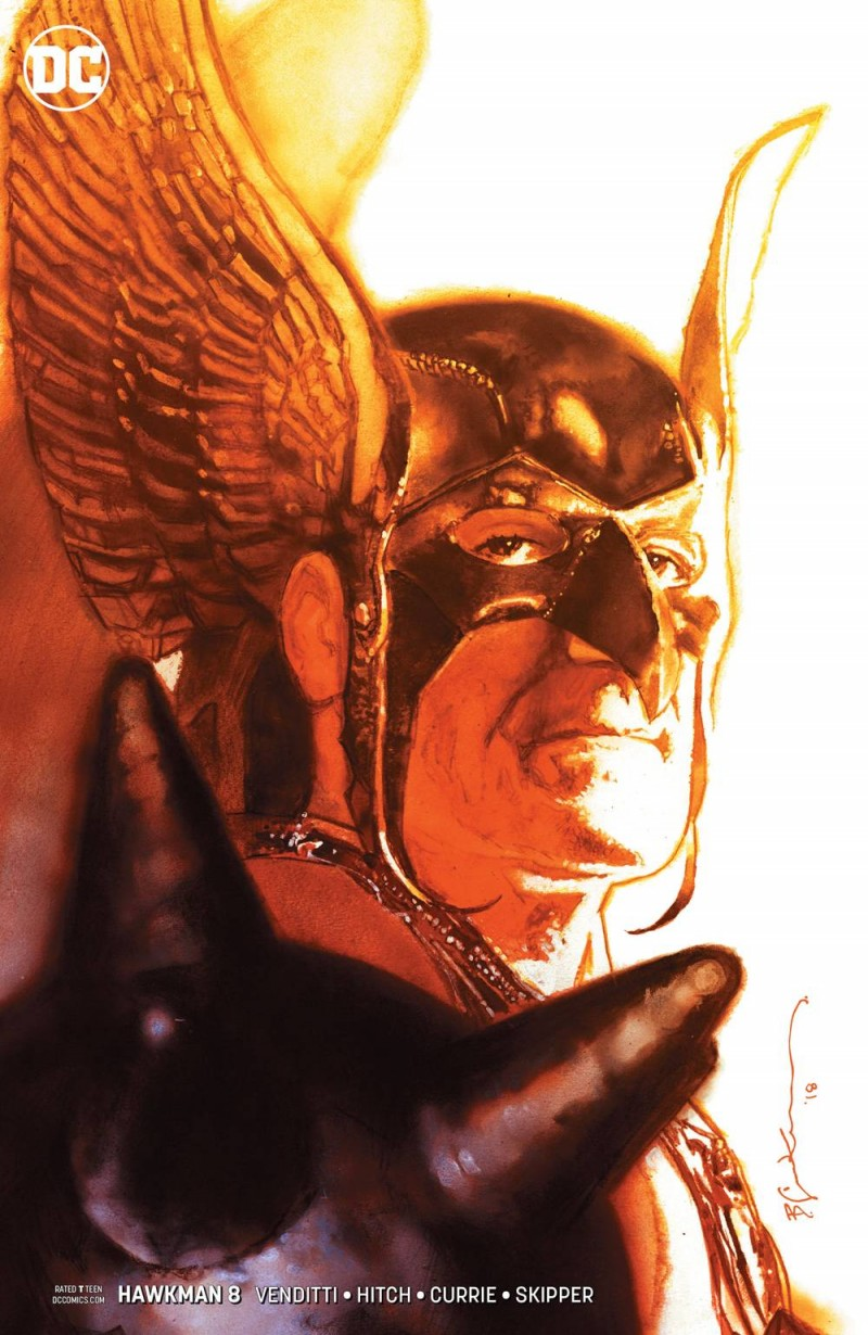 Hawkman  #8 CVR B