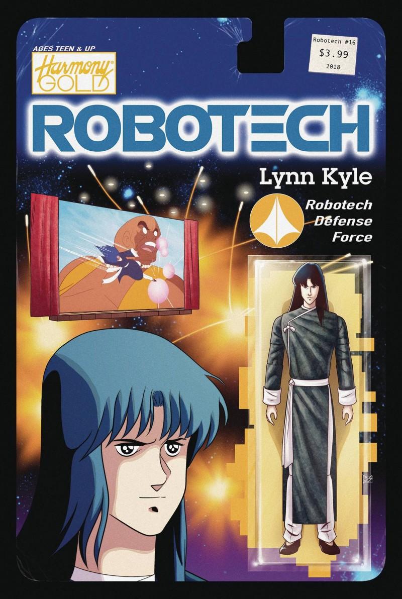 Robotech #16 CVR B Action Figure