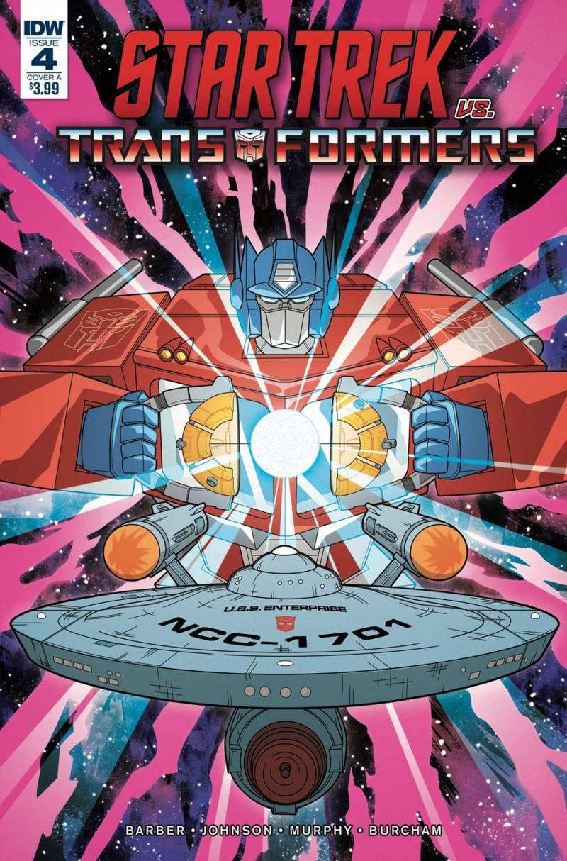 Star Trek Vs Transformers #4 CVR A Murphy