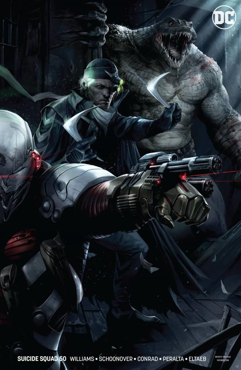 Suicide Squad  #50 CVR B