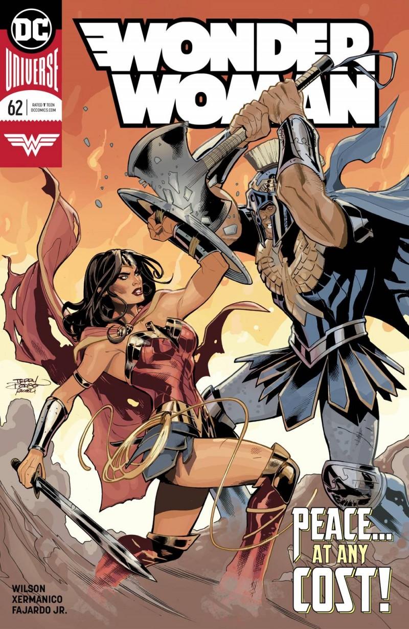 Wonder Woman  #62 CVR A