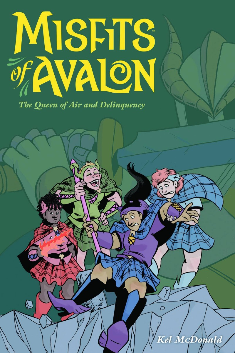 Misfits of Avalon TP  Queen of Air and Delinquency