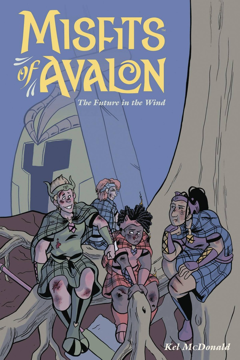 Misfits of Avalon TP  Future in Wind
