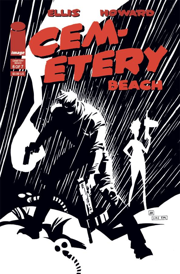Cemetery Beach #6 CVR B Impact