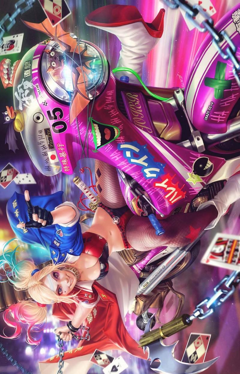 Harley Quinn  #58 CVR B