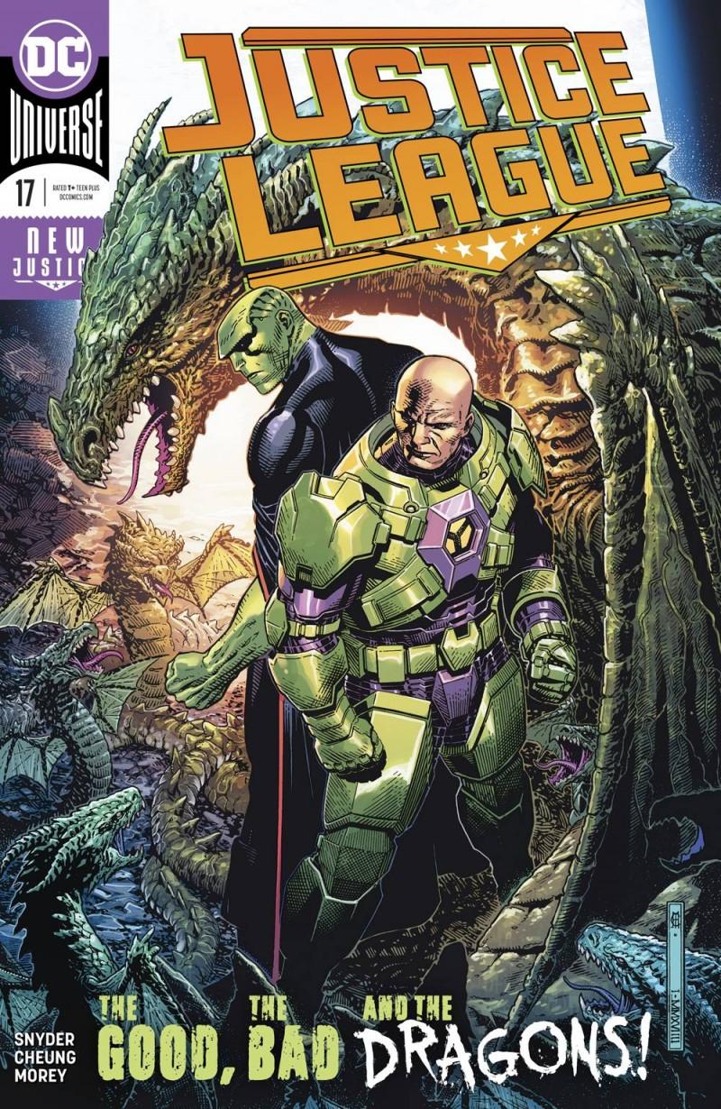 Justice League  #17 CVR A