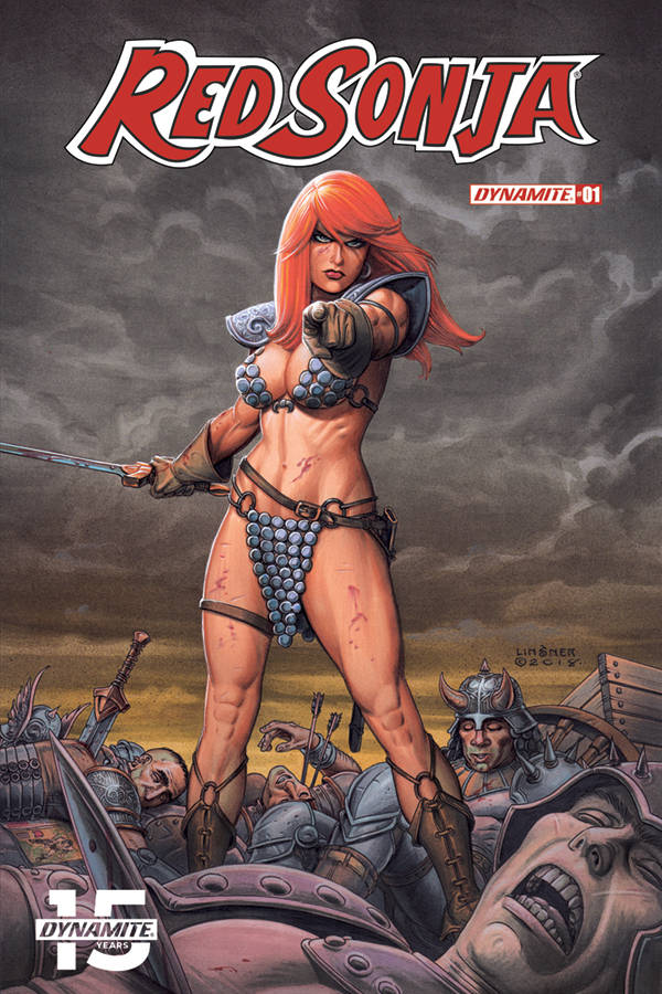 Red Sonja  #1 CVR B Linsner