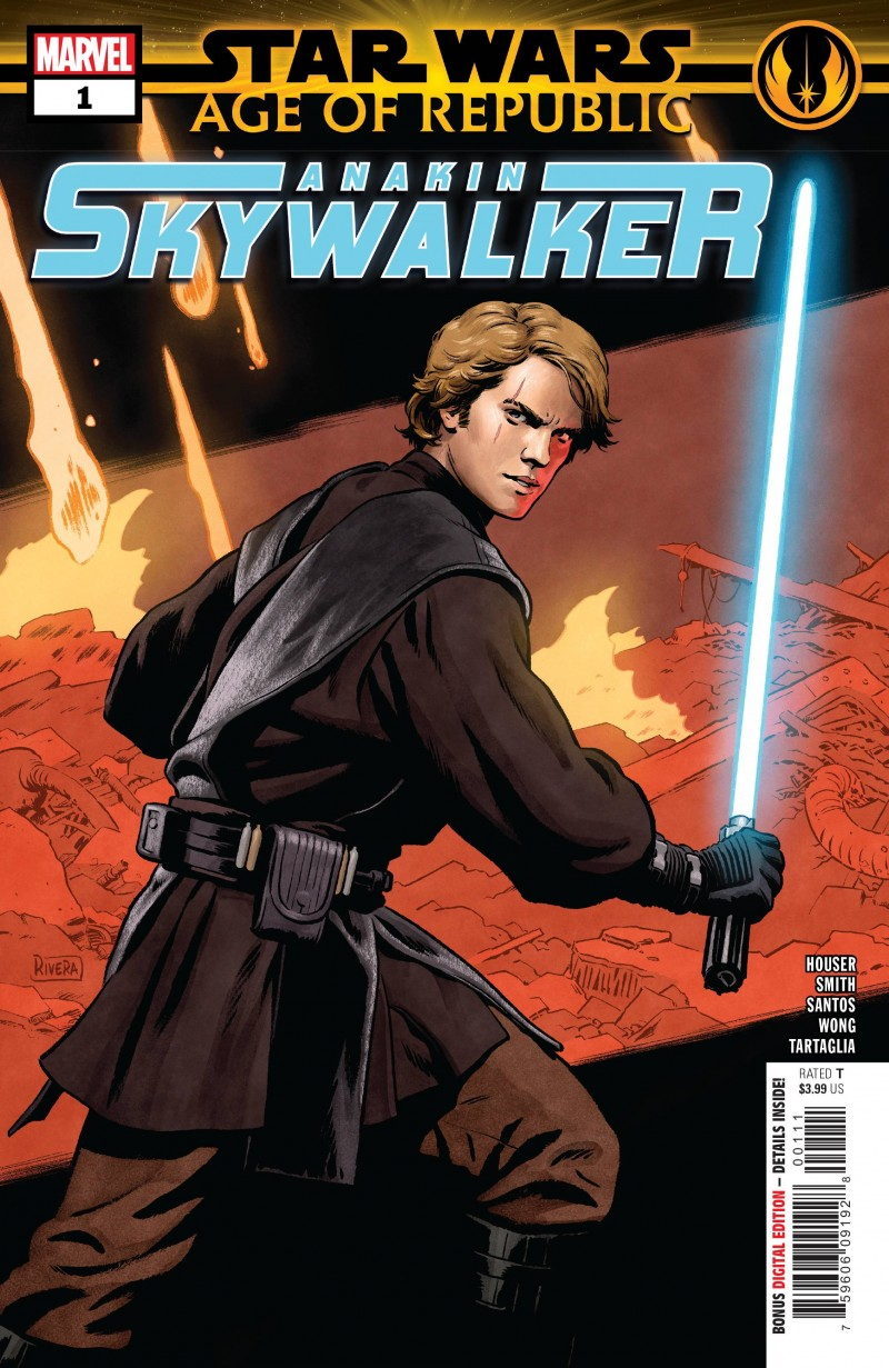 Star Wars Age of Republic One-Shot Anakin Skywalker