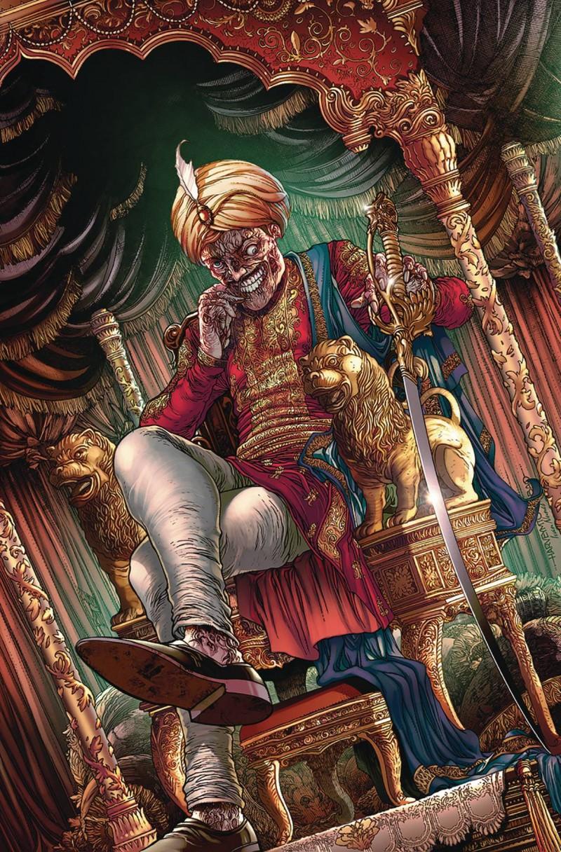 Van Helsing Sword of Heaven #4 CVR D Tolibao
