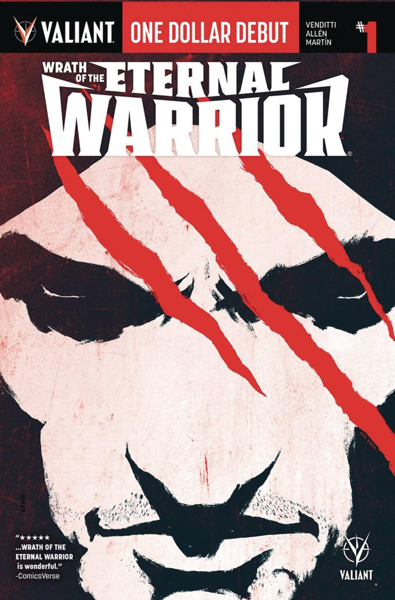 Wrath Eternal Warrior One-Shot One Dollar Debut