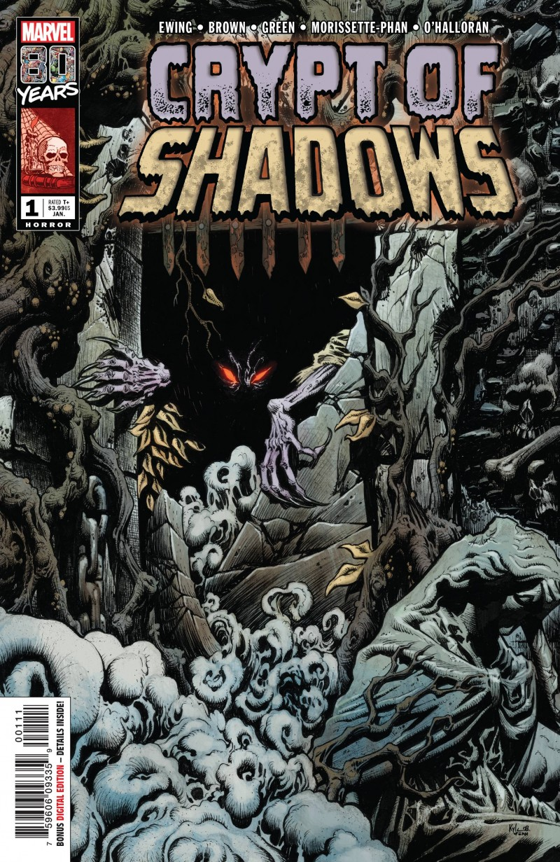 Marvel 80th One-Shot Crypt of Shadows