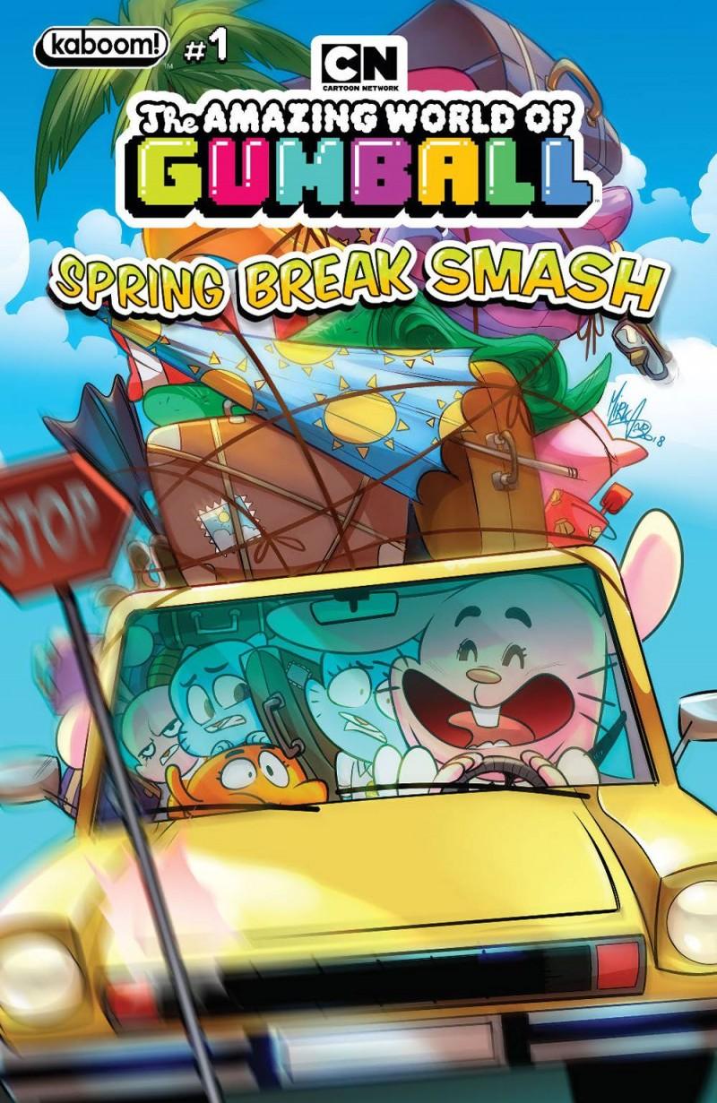 Amazing World Gumball Spring Break Smash CVR A