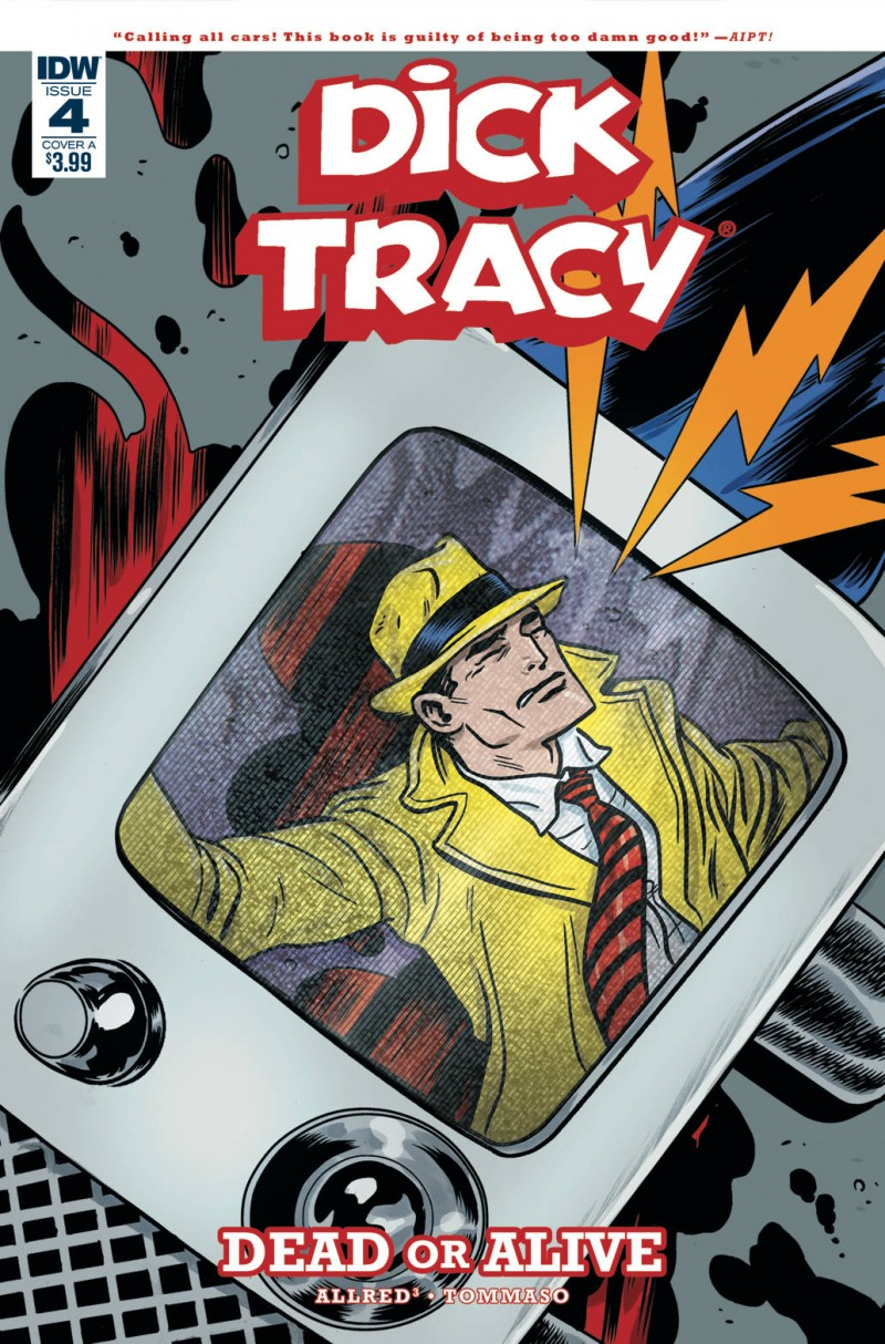 Dick Tracy Dead or Alive #4 CVR A Allred