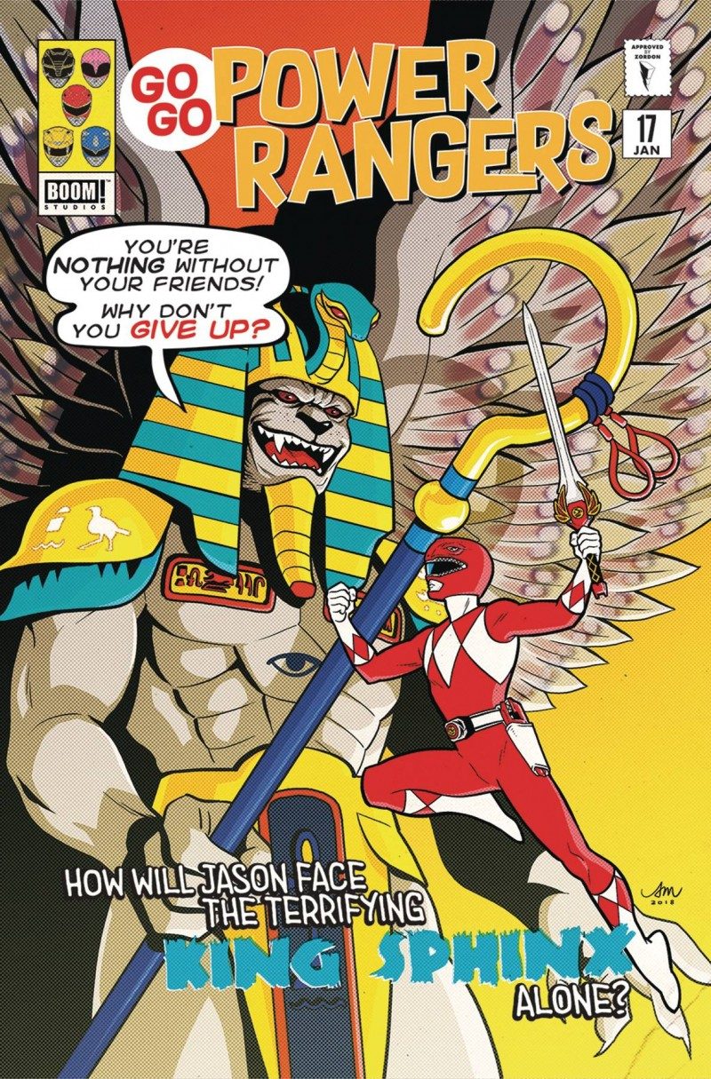 Go Go Power Rangers #17 CVR B Preoder Mok