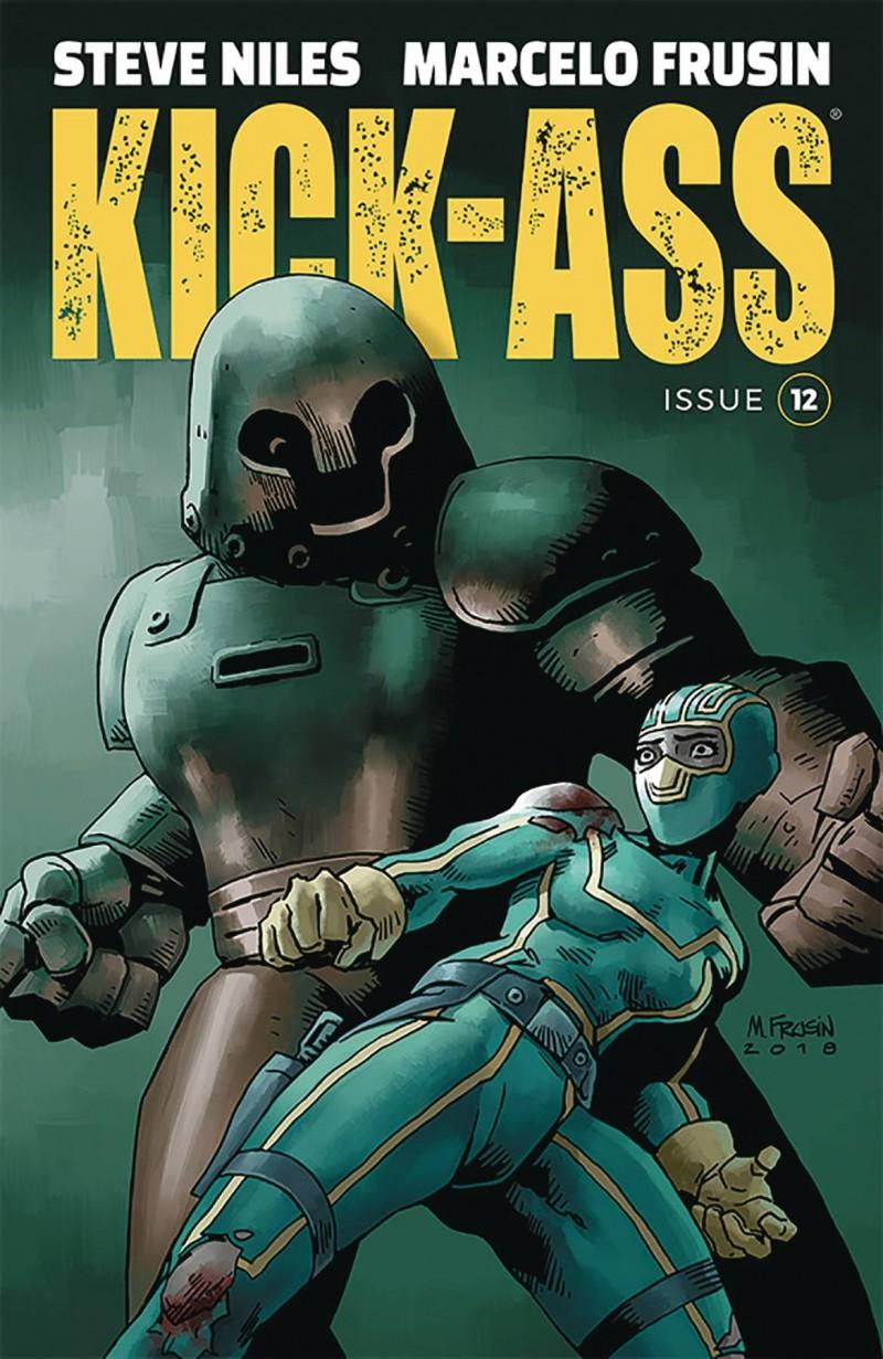 Kick-Ass  #12 CVR A Frusin