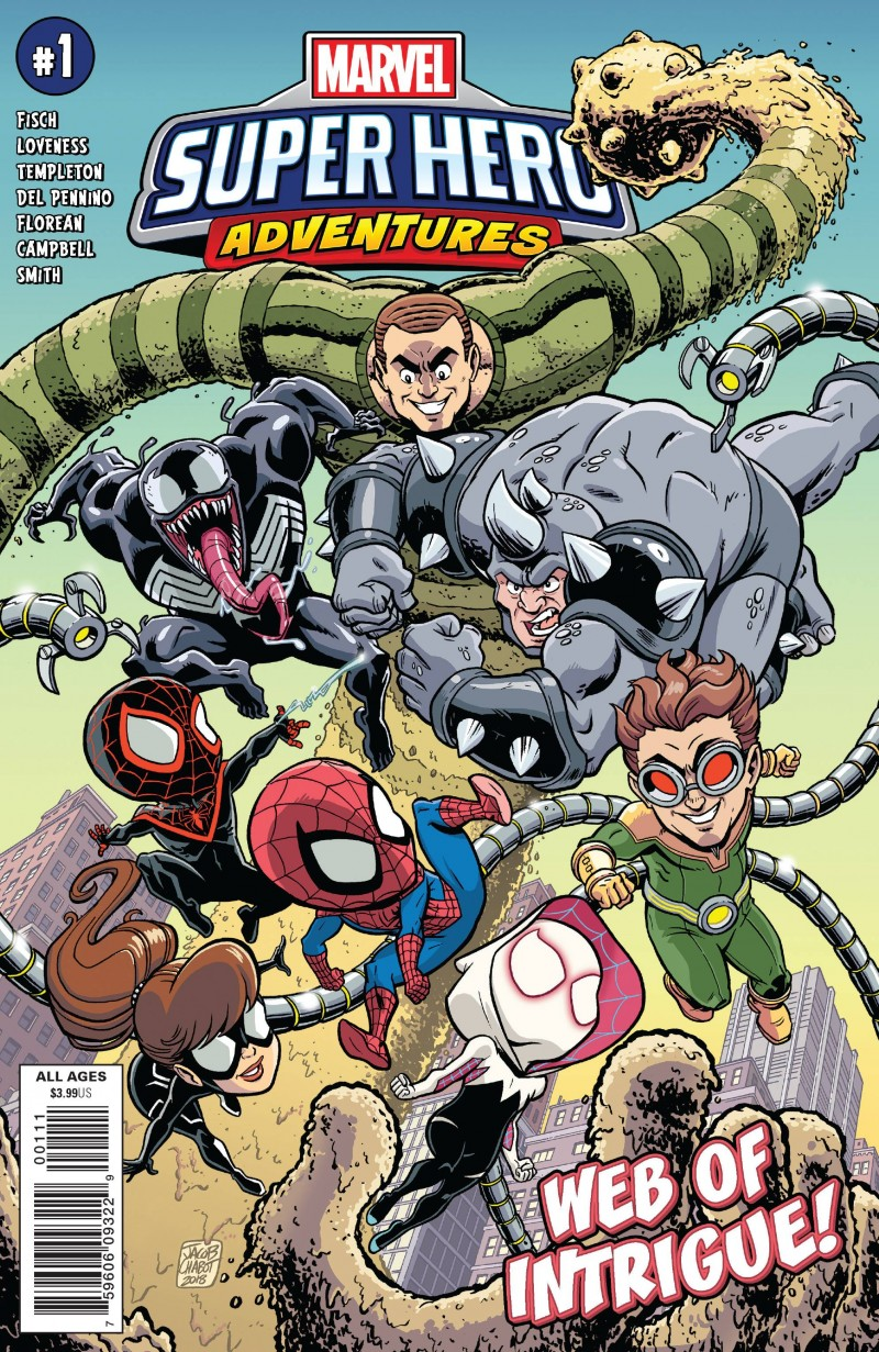 Marvel Super Hero Adventures One-Shot Spider-man Web of Intrigue