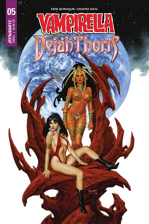 Vampirella Dejah Thoris #5 CVR D Jusko