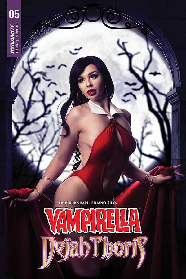 Vampirella Dejah Thoris #5 CVR E Vampirella Cosplay