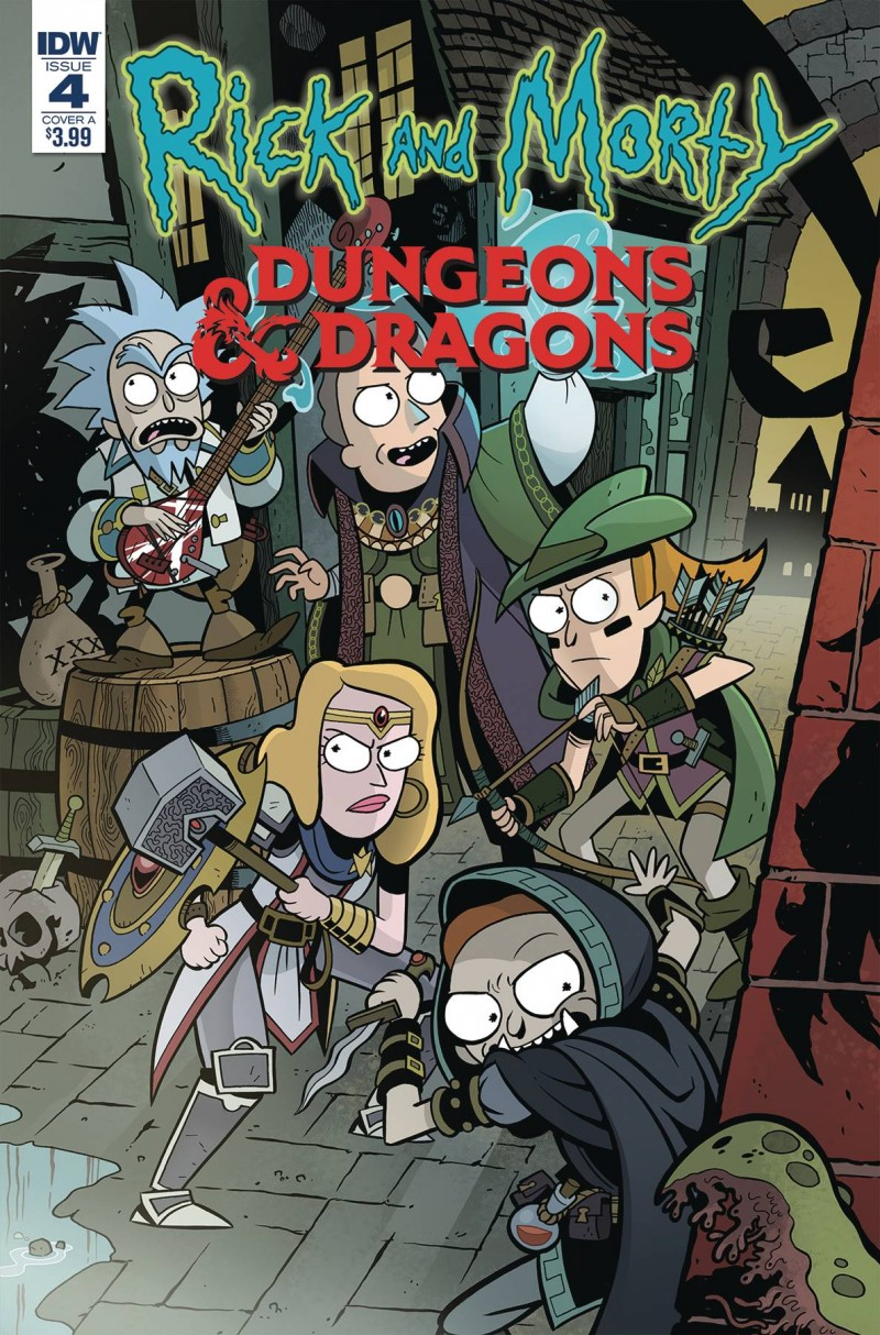 Rick and Morty Vs Dungeons and Dragons #4 CVR A