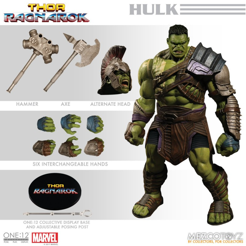 One-12 Collective Marvel AF Thor Ragnarok Gladiator Hulk