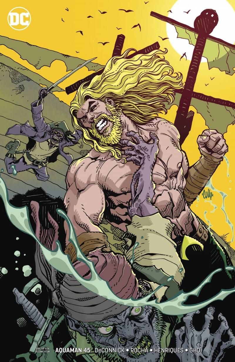 Aquaman  #45 CVR B
