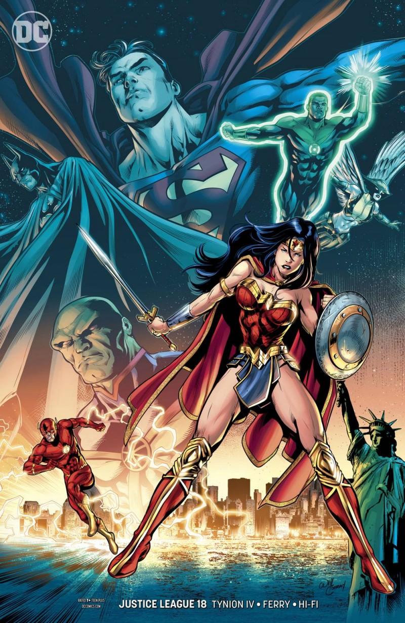 Justice League  #18 CVR B