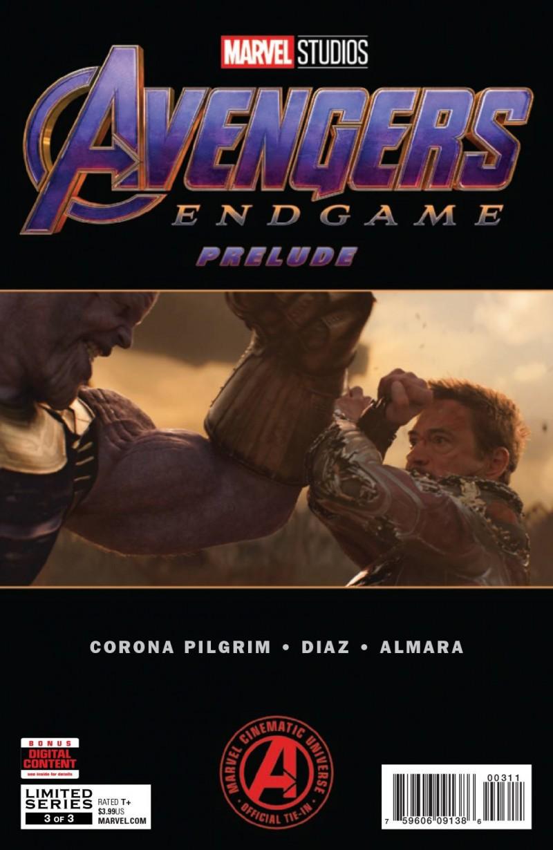 Marvels Avengers Endgame Prelude #3