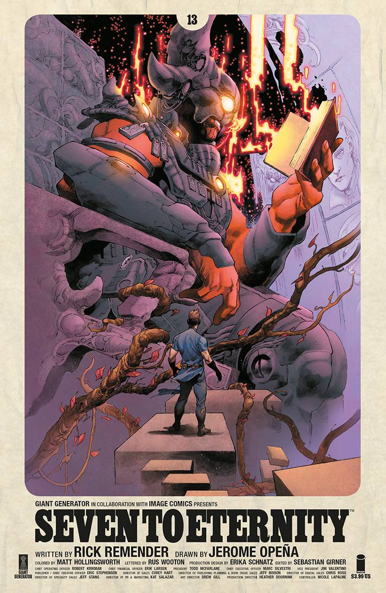 Seven To Eternity #13 CVR A Opena and Hollingsworth