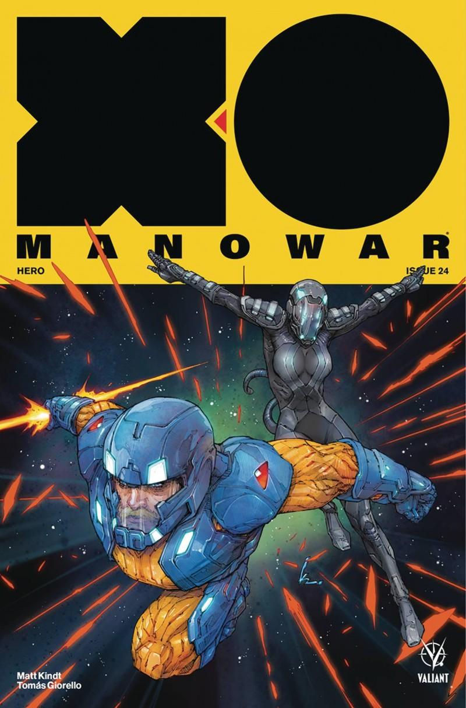 X-O Manowar  #24 CVR A Rocafort