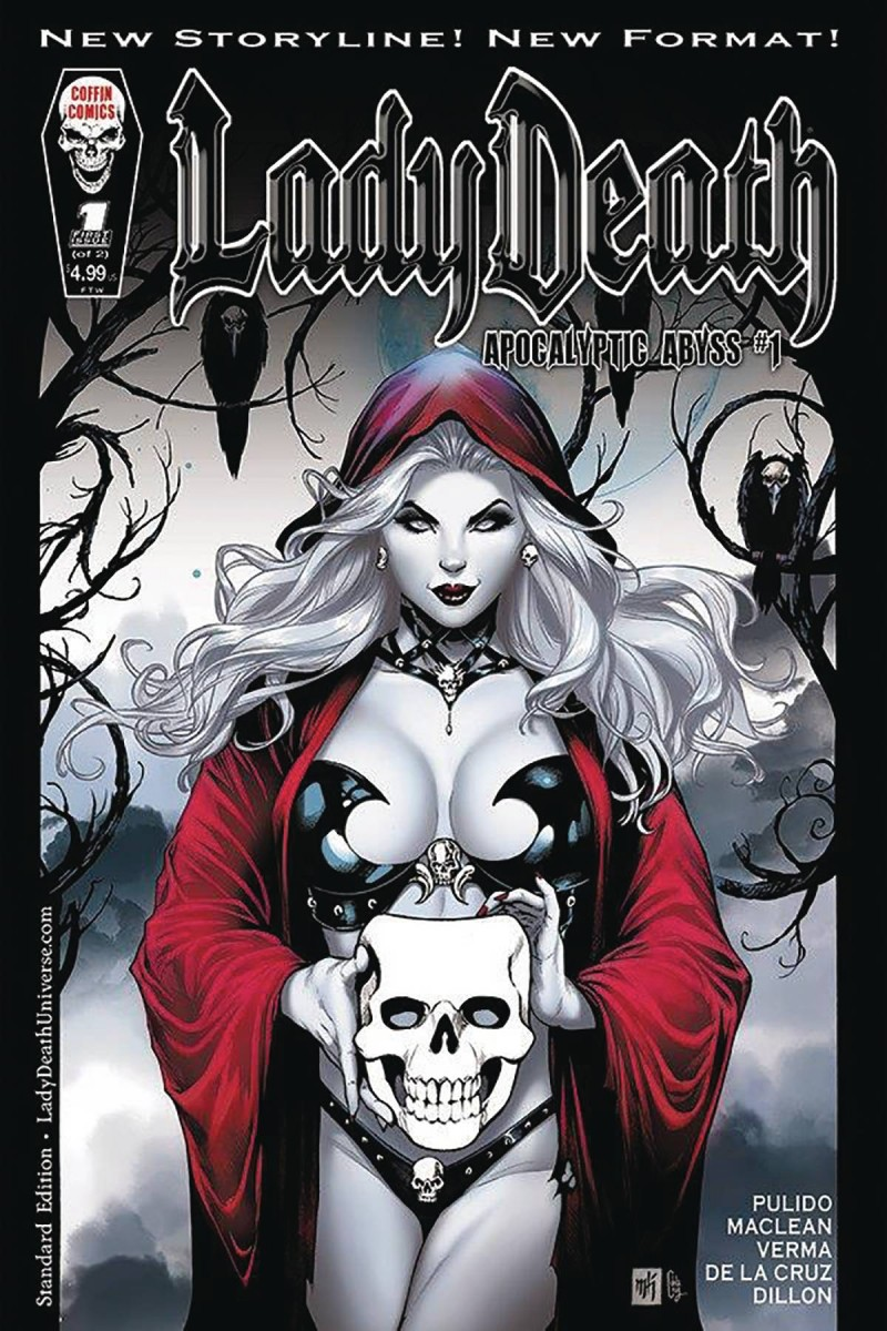 Lady Death Apocalyptic Abyss #1