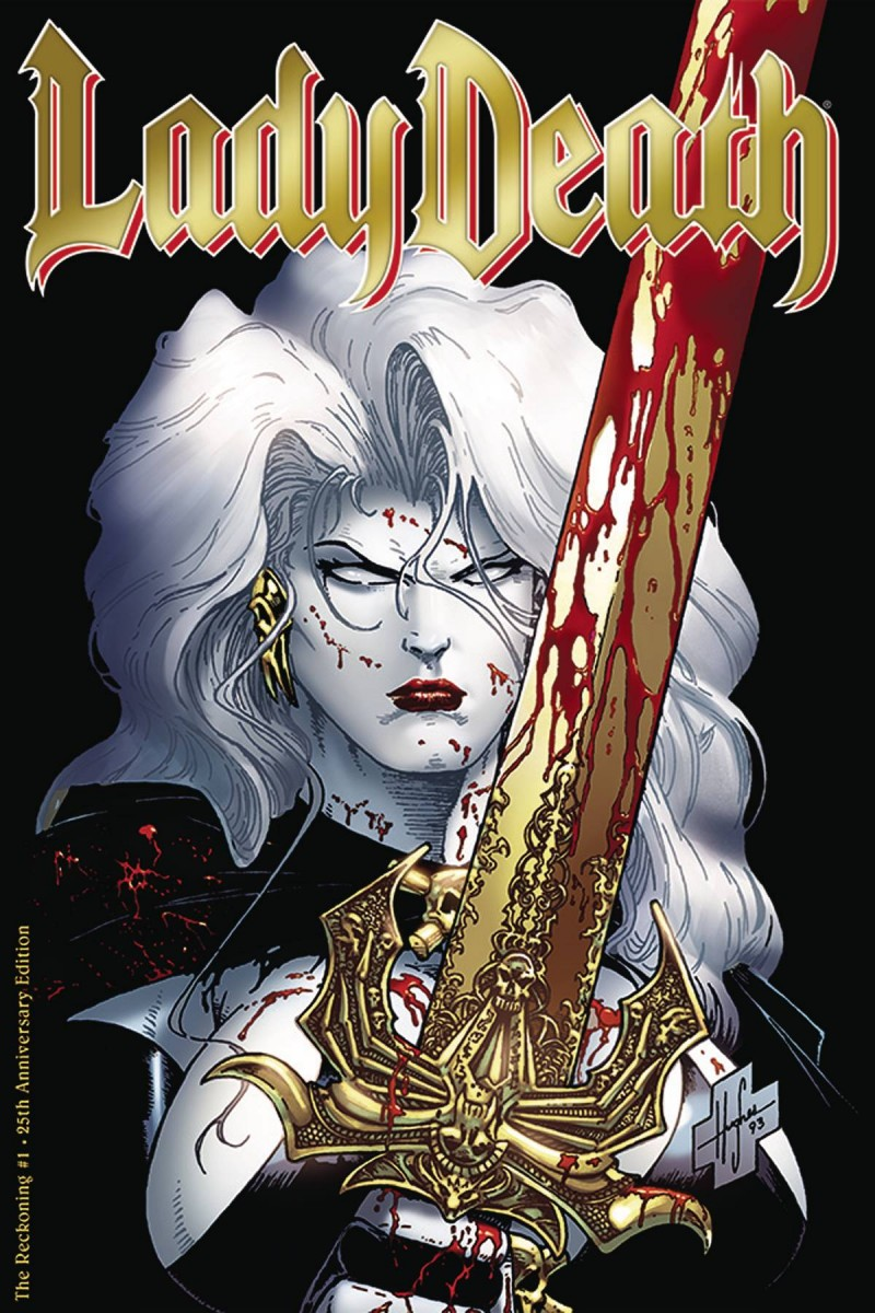 Lady Death the Reckoning #1 25th Anniversary Edition