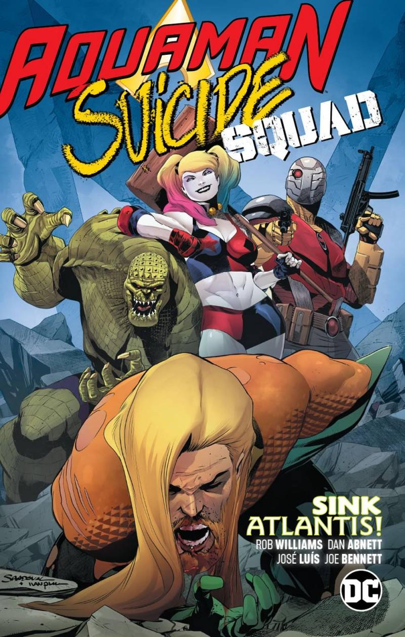 Aquaman Suicide Squad TP Sink Atlantis
