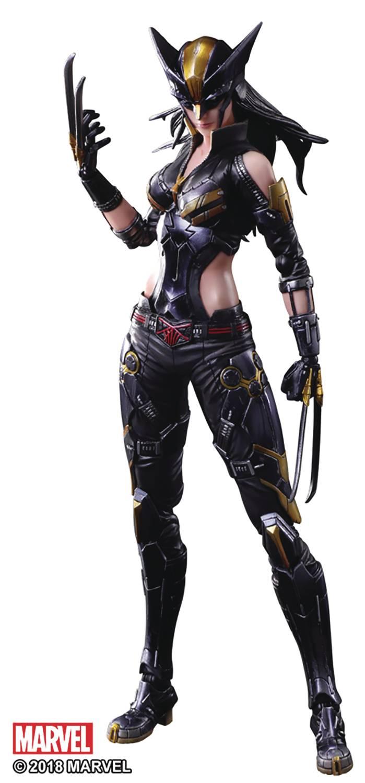 Marvel Play Arts Kai AF X-23