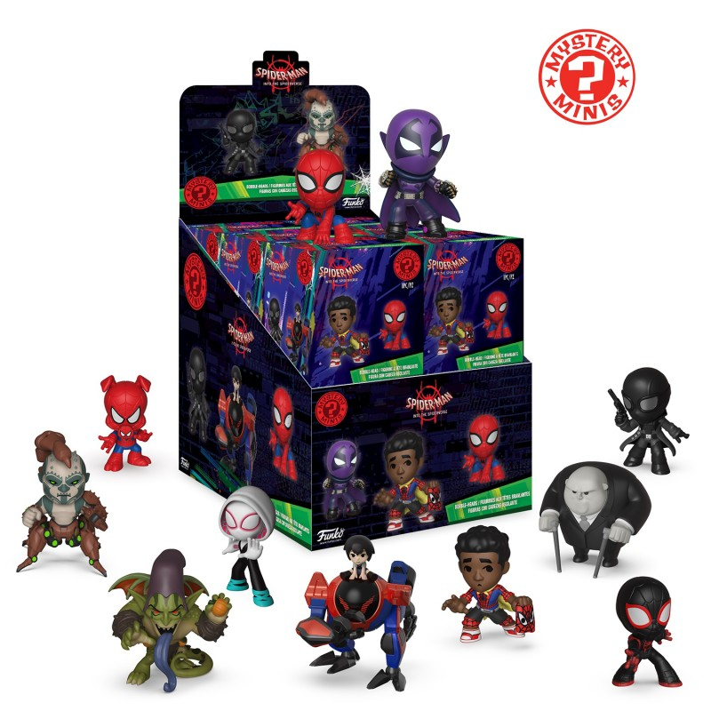 Spider-Man Into the Spider-Verse Mystery Minis Mystery Box