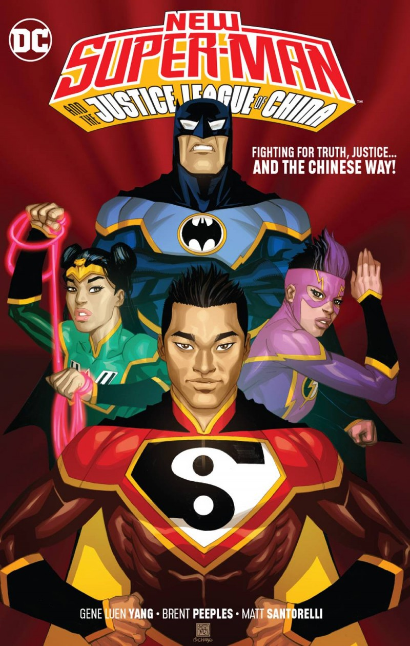 New Super Man and the Justice League of China TP